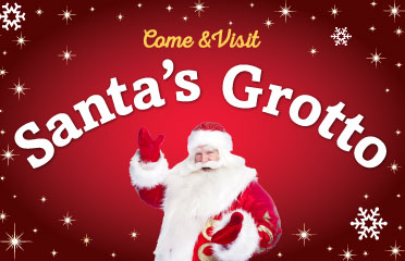 Visit santa at one of our garden centres events - book in-store