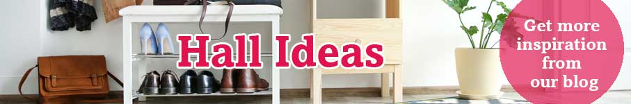 View our inspirational ideas for your hall