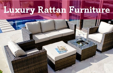 View Our New Range of Luxury Rattan Garden Furniture