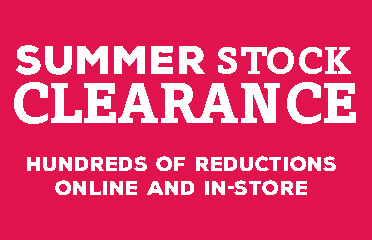 Summer Stock Clearance