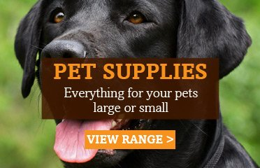 View our pet supplies range