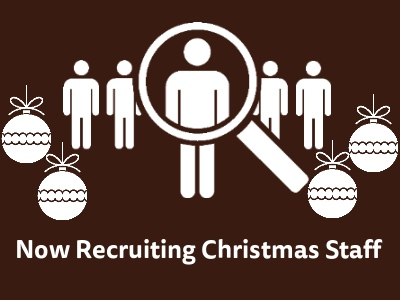 Now recruiting Christmas team members