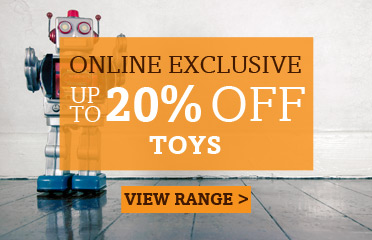 Save Up To 20% Off Selected Toys, Online Exclusive - 1 Week Only