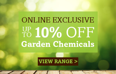 Save Up To 10% Off Garden Chemicals, Online Exclusive - 1 Week Only