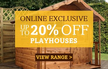 Save Up To 20% Off Childrens Playhouses, Online Exclusive - 1 Week Only