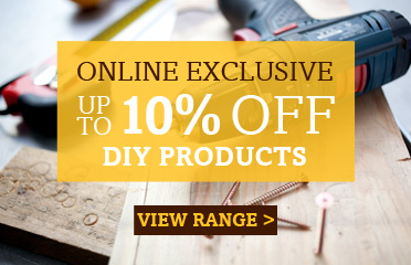Save Up To 10% Off Selected DIY Products - Online Exclusive Deal