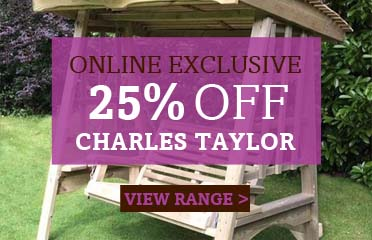 Save 25% Off Charles Taylor Garden Furniture, Online Exclusive - 1 Week Only
