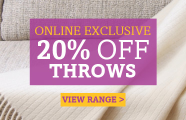 Save Up To 20% Off Selected Throws Products - Online Exclusive Deal