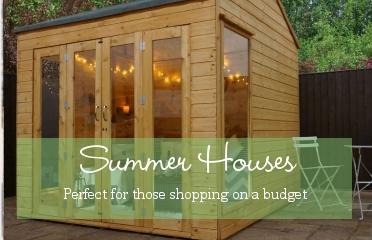 View our range of summer houses - exclusively online