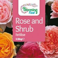 See more information about the Blooming Fast Organic Rose & Shrub Feed 1.5Kg