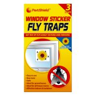 See more information about the PestShield 3 Pack Window Sticker Fly Traps
