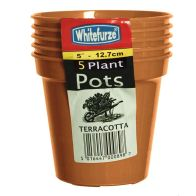 See more information about the Pack 5 12.7cm (5inch) T Grow Plant Pots