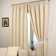 "See more information about the Fusion Waffle Curtains (45"" Width x 54"" Drop) - Natural"