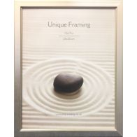 """Classic Silver Photograph Frame (12"""" x 10"""")"""
