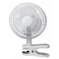 "See more information about the Fan 6"" Diameter Tilting Clip Fan"