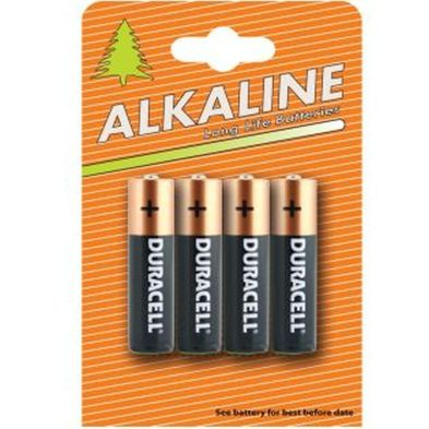 Image of 4 Pack Duracell AA Batteries