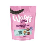 See more information about the Wagg Sensitive Treats Meaty Bites 125g