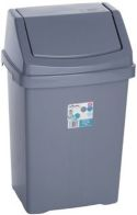 See more information about the Wham Swing Bin Silver 25L