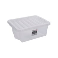 See more information about the 16L Wham Crystal Stacking Clear Storage Box & Clip Lid