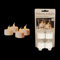 See more information about the LED 4 Flameless Flickering Decorative Tea-lights