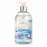 See more information about the Astonish Coconut Antibacterial Handwash
