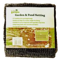 6m x 2m Garden & Pond Netting - Black