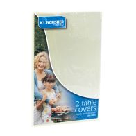 See more information about the Kingfisher White Plastic Table Covers (Pack 2)