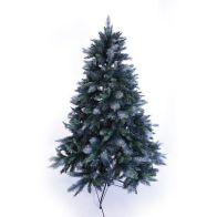 See more information about the 180cm (5 Foot 10 Inch) Green Shimmering 980 Tips Christmas Tree