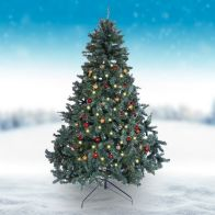 See more information about the Oncor 210cm (7 Foot) Green Douglas Fir 1322 Tips Christmas Tree