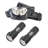See more information about the Rolson 9 LED Torch & 3 LED Head Light