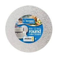 See more information about the Kingfisher Round Cake Board - Small
