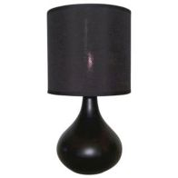 See more information about the Teardrop Table Lamp - Black