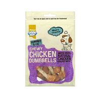 See more information about the Good Boy Chewy Chicken Dumbbells 100g