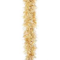 2m x 125mm Chunky Cut Traditional Christmas Tinsel - Gold