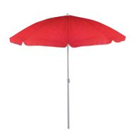 See more information about the 1.6M Colourful Beach & Garden Parasol - Red