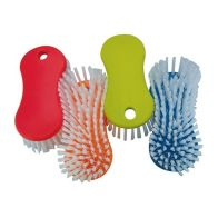 Cleaning Scrubbing Brush - Orange
