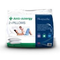 See more information about the 2 Pack Anti Allergy Bed Pillows