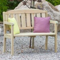See more information about the Caroline 2 Seater Garden Bench