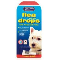 See more information about the Johnsons Small Dog Flea & Tick Drops (4 Week) - Johnson
