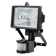 See more information about the 120W Halogen Black Floodlight with Motion Detection