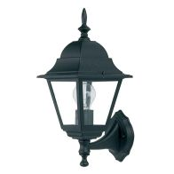 Lantern 4 Sided Black