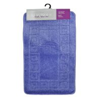 See more information about the 2 Piece Luxurious Bath Mat Set Light Blue