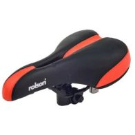 Rolson Black & Red Spare Bicycle Seat