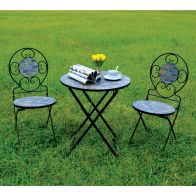See more information about the Messina 3 Piece Mosaic Bistro Furniture Set