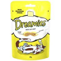 See more information about the Cheese Dreamies Cat Treats