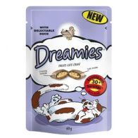 See more information about the Duck Dreamies Cat Treats