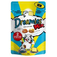 See more information about the Salmon and Cheese Dreamies Cat Treats