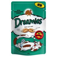 See more information about the Turkey Dreamies Cat Treats