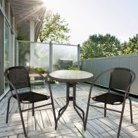 See more information about the Black Calella Bistro Set