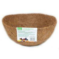 See more information about the 12inch Coco Moulded Hanging Basket Liner